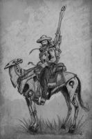 Space Cowboy named Roy by Axel13-Gallery