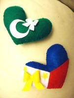 APH Hearts: Pakistan and the Philippines by chococat830