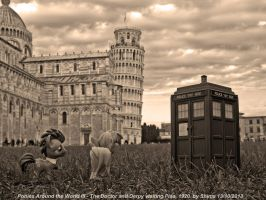 Ponies Around the World III - This is Pisa by ShimaFox