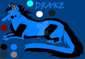 My lineart and Drake 8D by WoLfgIrLyS