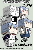 Cubee - Rei Ayanami by TaxisFlashDude