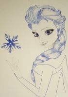 Elsa - in Blue by MalinPihl