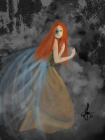 Fallen Angel by AbstractDawn