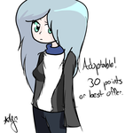 Adoptable [30 points or best offer] by Neon-X-Kittenz