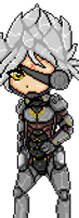 Raiden: Animated Sprite by moothequackingcow
