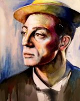 Buster Keaton by cloudgap