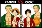 ZoLuZo? Canon vs OOC by yunzl