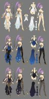 Dragon nest myth sorceress by ZiyoLing