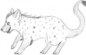 Hyena-Mouse by Marzi66
