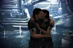 Mass Effect 3 - Shenko Kiss on Citadel by lealea25