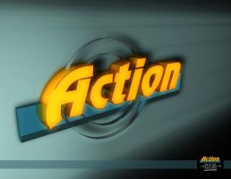 action logo c4d by ibrahim-ksa