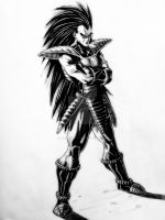 Raditz by darkogoku