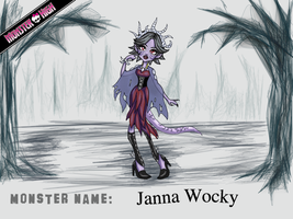 Create-A-Monster Entry: Janna Wocky by Haru-Akira