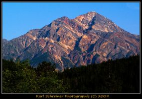 Pyramid Mountain 1 by KSPhotographic