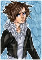 ff8 - squall by demon-rae
