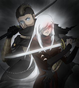Baruk And Akane by LordSecond