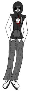 Monster High OC: Mortimer Thanatos by VictorianMycomancer