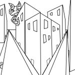 Perspective Practice + Lucario by Mew-tew