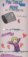 Pen Tablet Meme YAYAYAYAY by Indi-chin