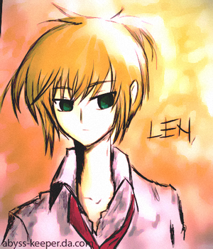 Len:Delinquent by abyss-keeper