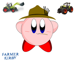 Farmer Kirby by KirbyDude64