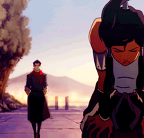 OMG ITS MAKO MAKORRA GIF by TheSadisticWolf