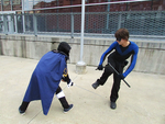 Lucina vs Nightwing 4 by J25TheArcKing