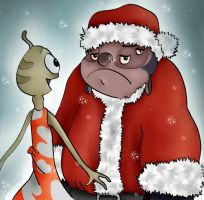 Merry Christmas from Jumba and Pleakley! by bonnieboo0