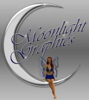 Moonlight Graphics logo by celticpath