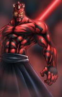 Darth Maul by K-fry-express