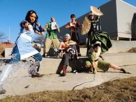 Avatar Group at Shutocon by vmachina