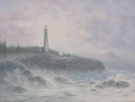 Brighter Lighthouse by Silas-Higgle