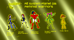 Alt Planet 08 - Feminist Warriors by LittleGreenGamer