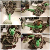 Fluffy Raptor Plush by Caliguican