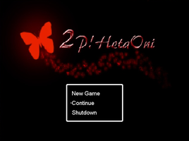 New Title Screen- 2P!HetaOni by Italy-PastaLove
