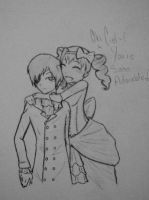 Ciel and Lizzie~ by Catchmewithyourlips