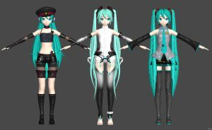 MIKU Project DIVA Arcade by nampukkk