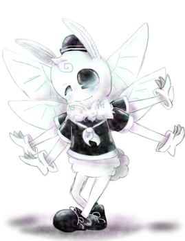 (Request) Pol The Poodle Moth by MariaCool1234