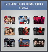 TV Series Folder Icon - Pack 4 by DYIDDO