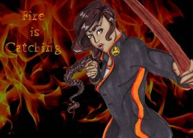Fire is Catching by ToriaDoria