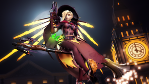 Overwatch - Mercy Witch by DarknessRingoGallery