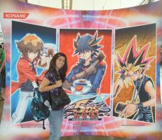 Me at the Yu-Gi-Oh WCQ event by Yamigirl21