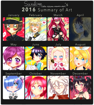 My art summary! by Katane-Enomoto-chan