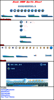 Sonic HUD Sprite Sheet by HomingMissile333