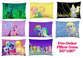 Pre Order MLP Pillows by bluepaws21