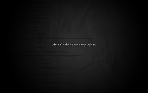 Code is poetry wallpaper by pixelsoul