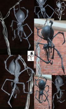 blackwidow maquette by kyo888