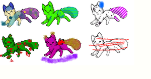 Free Foxie Adopts! by superstel