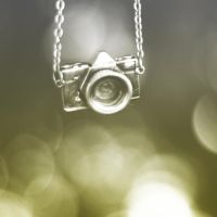 Camera Necklace by MerissaG
