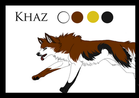 TS comic: Ref sheet Khaz by fenderbender368